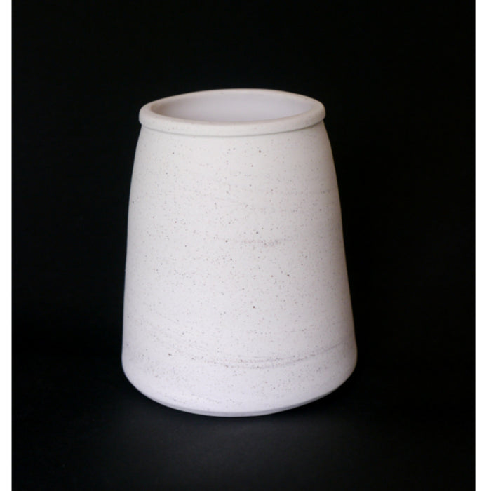 White earthenware vessel I