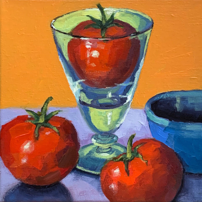 Tomato in Glass