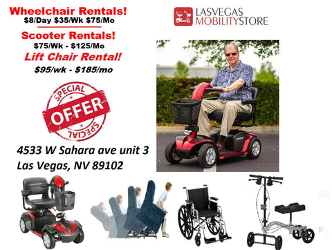 knee scooters for rent in las vegas