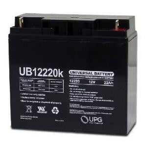 12V/22AH Battery (Pair) Pride Go Go Elite Batteries!