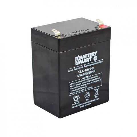 12V 2.9AH BATTERIES
