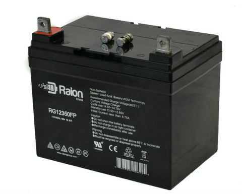 Raion 12V 35Ah Rechargeable SLA Battery With AGM Technology
