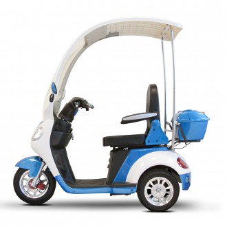 eWheels 44-3-Wheel Recreational Scooter with Canopy