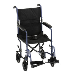 "Drive 17"" Steel Transport Chair"