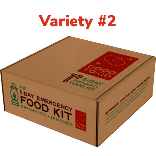 5-Day Emergency Food Kit Variety #2