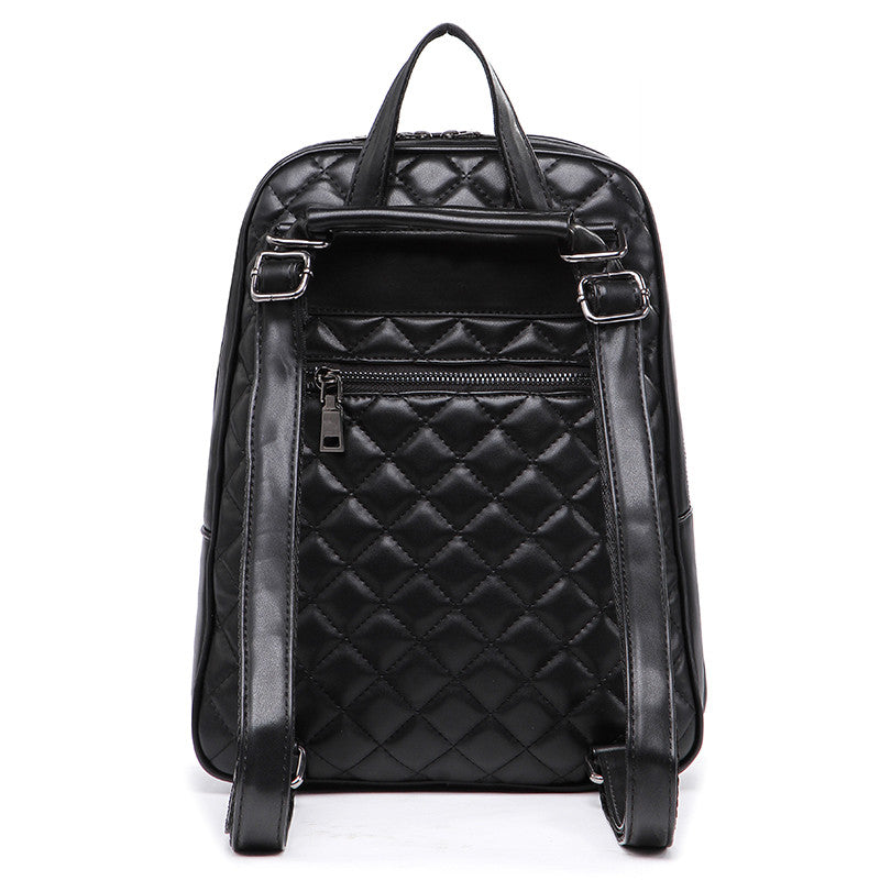 Ladies Quilted Backpack - Baliva