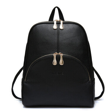Leather Strap School Bag - Baliva