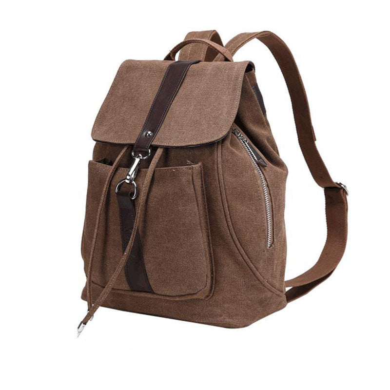 Casual Canvas Backpack - Baliva