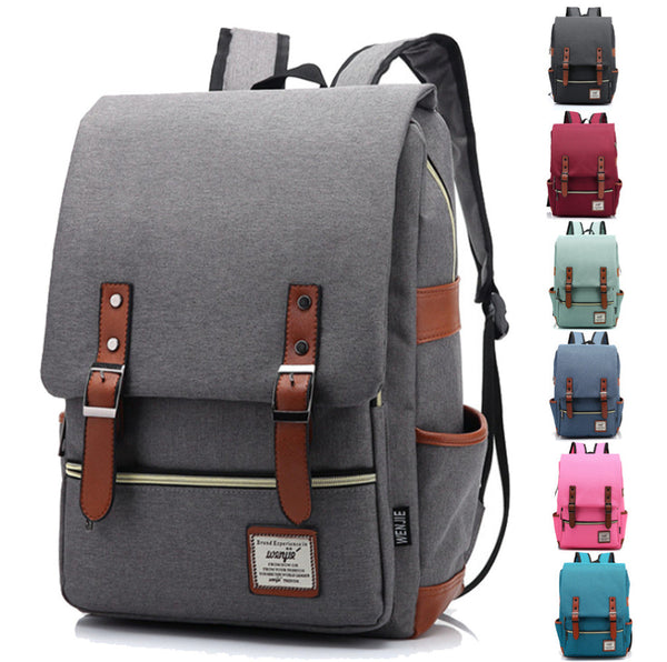Unisex Laptop Backpack, Oxford 15inch Bag, Student book bag for men and women