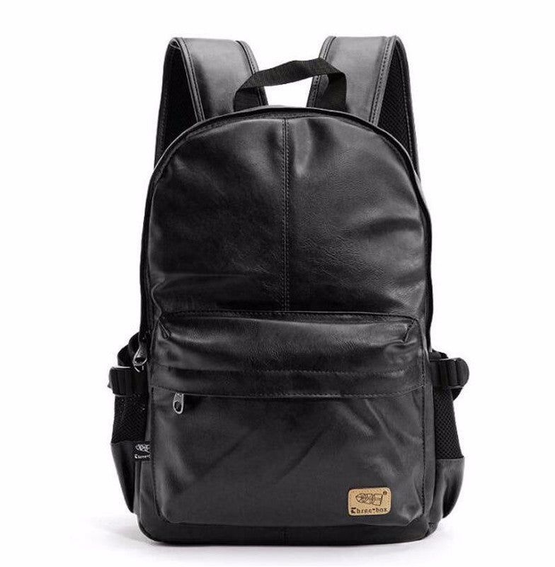 Faux Leather Backpack - Baliva