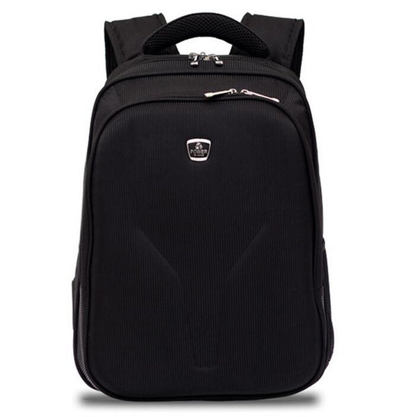 Black Zipper Backpack - Baliva