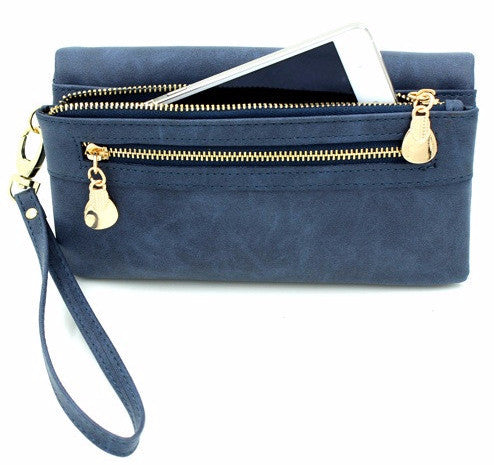 Ladies PU Leather Wristlet - Baliva