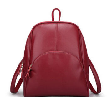 Ladies Leather Backpack - Baliva