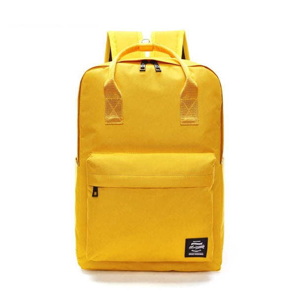 Back to School Canvas Backpack - Baliva