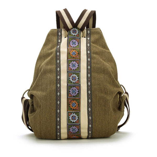 Cute Floral Backpack for Women - Baliva