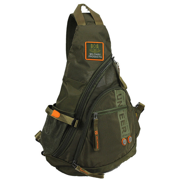 Men's Green Army Military Backpack