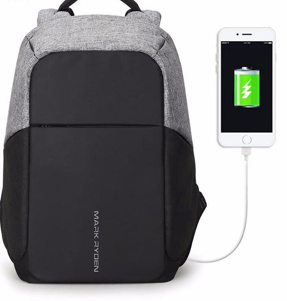 USB Laptop Backpack 15""