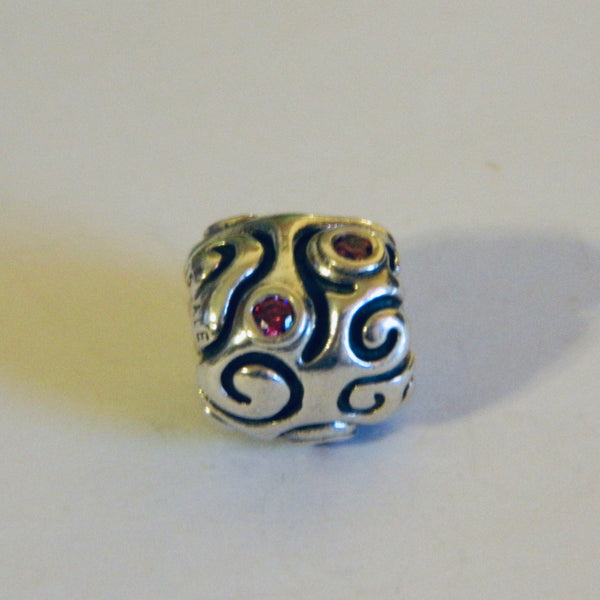 Authentic Pandora Charm Red Daydream S925 Ale 790548CZR