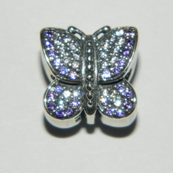 Authentic Pandora Charm Sparkling Butterfly S925 Ale 791257ACZ