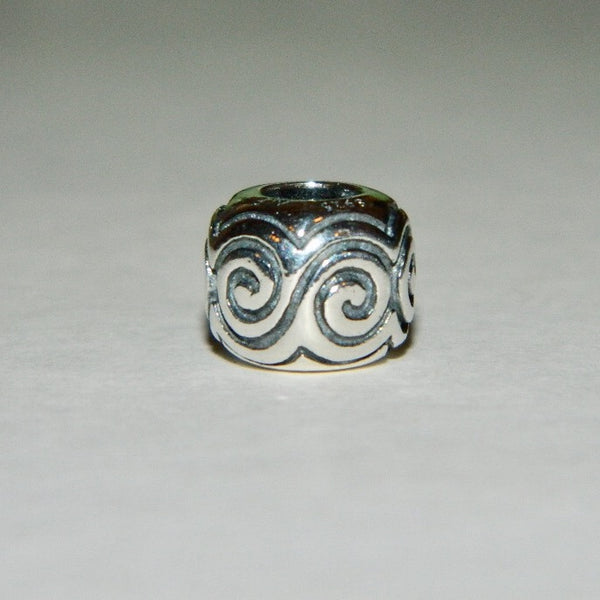 Authentic Pandora Charm Large Swirls S925 Ale 790228