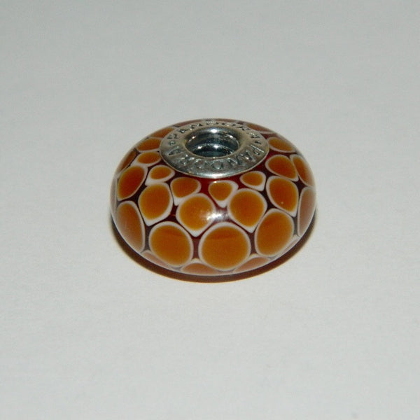 Authentic Pandora Bead Exotic Cinnamon XL S925 Ale 790900