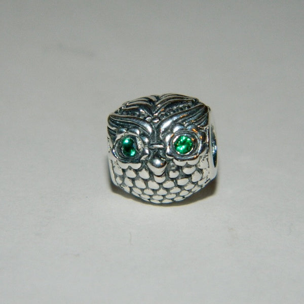 Authentic Pandora Charm Wise Owl S925 Ale 791211CZN