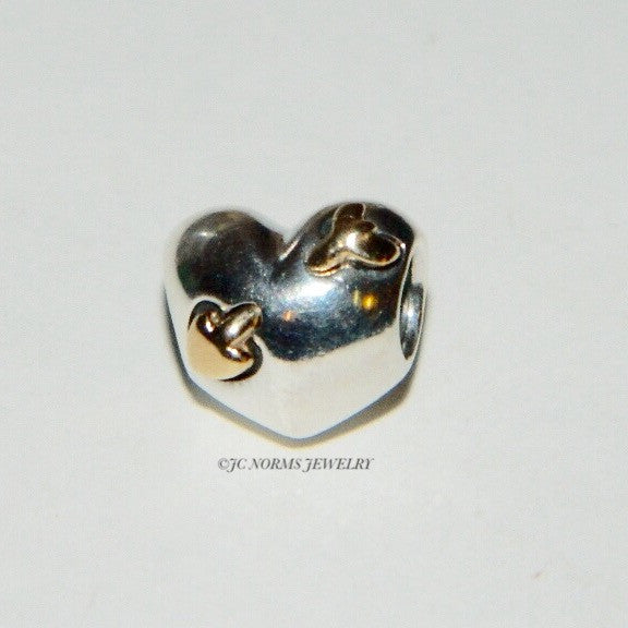 Authentic Pandora Charm Love Struck 14k S925 Ale 791171