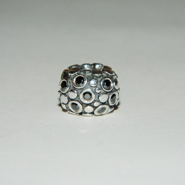 Authentic Pandora Charm Black Encore Clip S925 Ale 790593NCZ