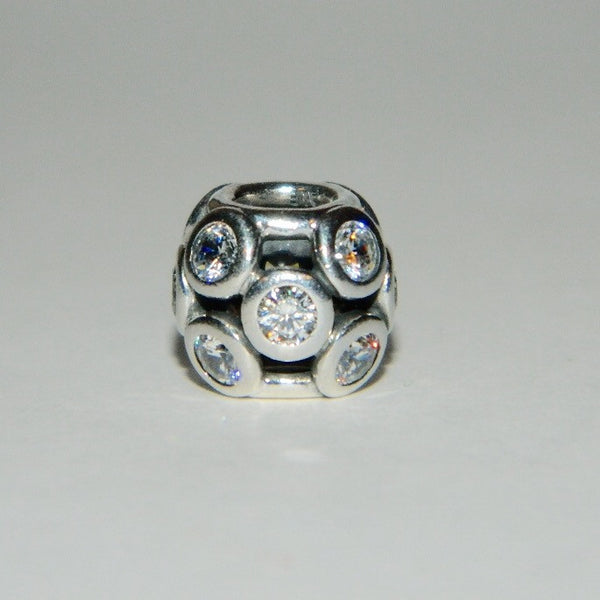 Authentic Pandora Charm Clear Whimsicle Lights S925 Ale 791153CZ