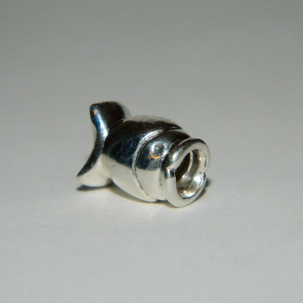 Authentic Pandora Charm Wide Mouth Fish S925 Ale 790113