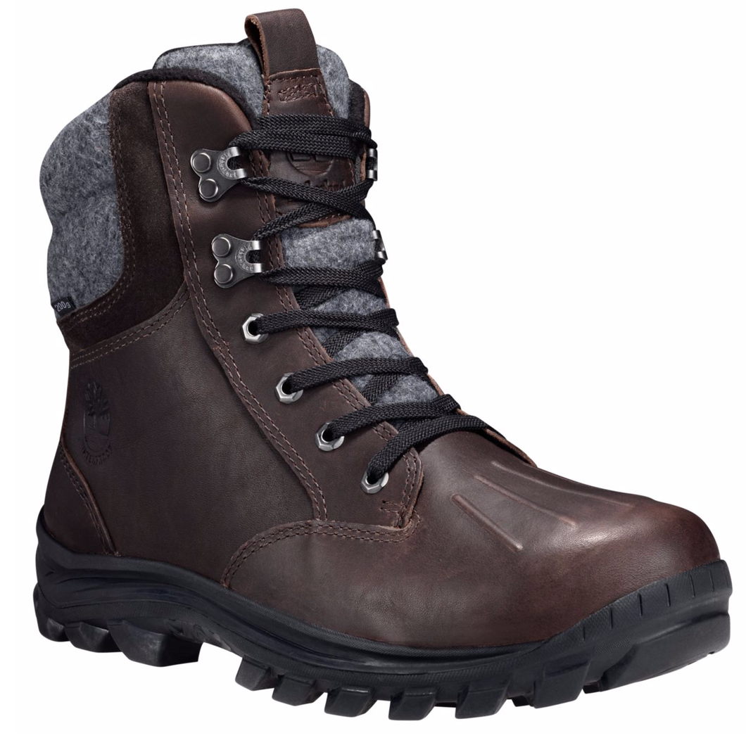 Timberland Men's Mid Chillberg Waterproof, Insulated Boot. Brown