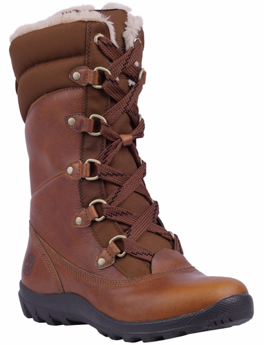 Women's Timberland Mount Hope Insulated/Waterproof Boots. Tobacco