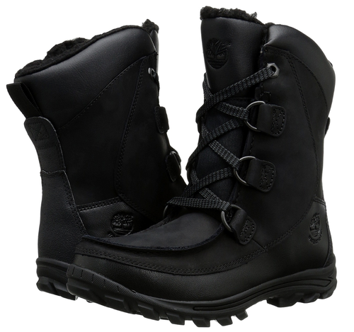 Boy's Timberland Chillberg Insulated\Waterproof High Boot. Black