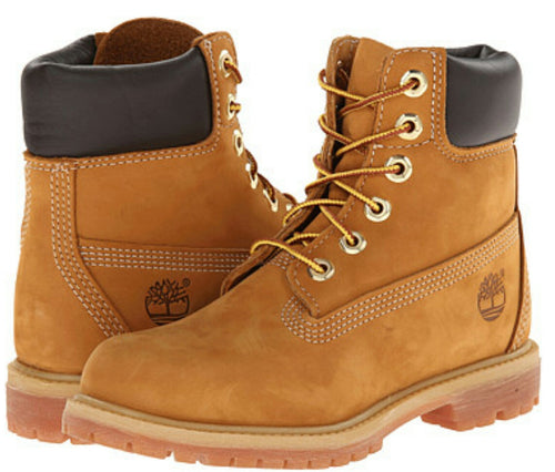 Men's Timberland 6' Premium Wheat Nubuck
