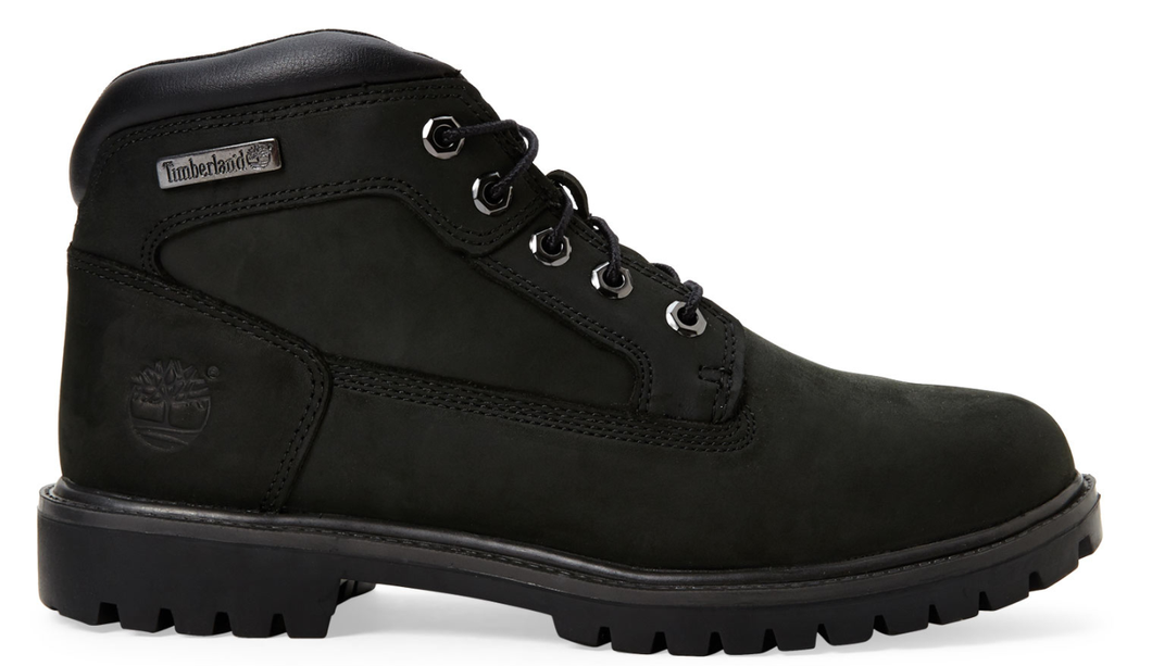 Men's Timberland New Market Black Boot