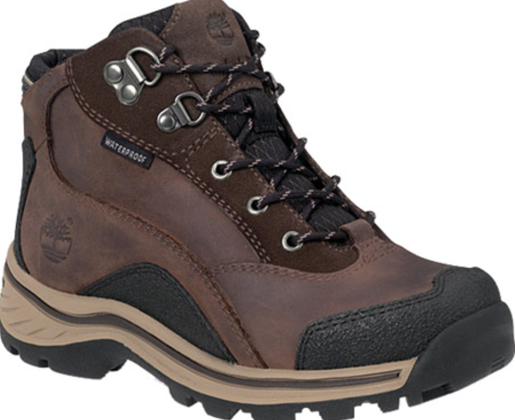 Boy's Timberland Patuckaway Waterproof Boot. Brown