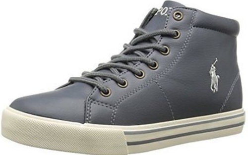Boy's Polo Mid Scholar. Gray