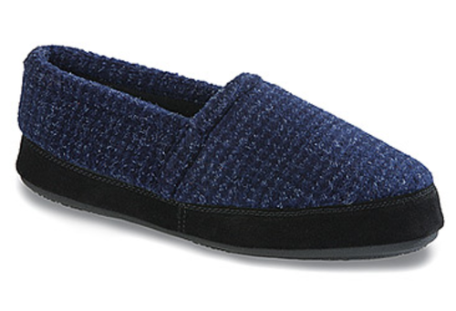 Men's Tempur-Pedic Stratus 2 Slippers. Navy