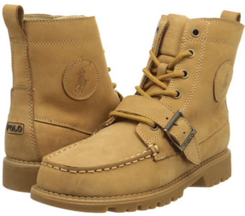 Boy's Polo Hi Ranger Boot. Nubuck