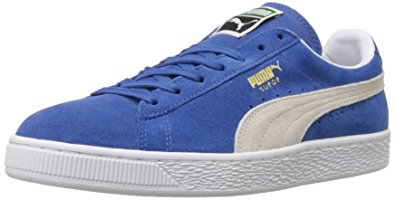 Men's Puma Suede's Blue