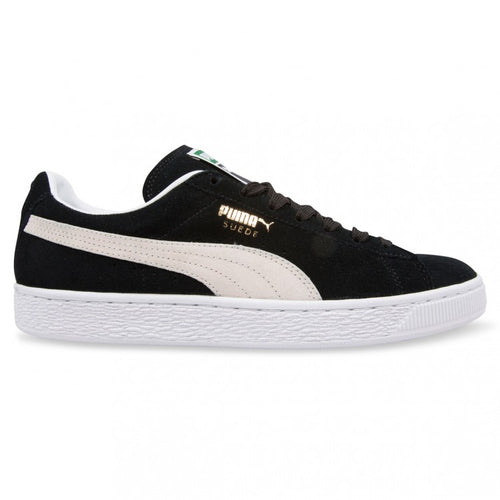 Men's Puma Suede's Black