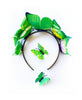 Princesa Green child butterfly headband set