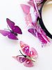 Princesa Purple child butterfly headband set