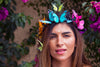 Rainbow Butterfly Crown