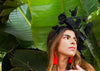 Dark Star Black Butterfly Fascinator
