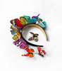 PRE-ORDER Rainbow Glow butterfly headband set