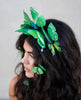 Princesa Green butterfly headband set