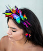 the Tropicale II butterfly headband set