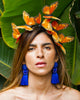 Oaxaca Orange Butterfly Crown
