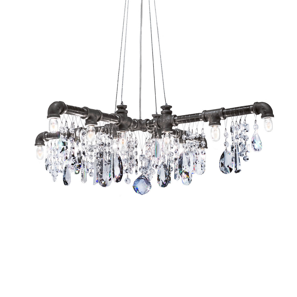 Tribeca X-Chandelier on CoolThingsToBuyOnline